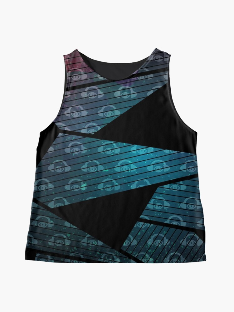 Alternate view of The Sights And Sounds: Floating In Space Sleeveless Top