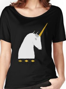Skeptical Unicorn  Women's Relaxed Fit T-Shirt