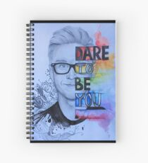 Tyler Oakley -Dare to be you Spiral Notebook