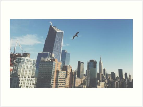 Soaring Over the City, 2016 by Marc Zahakos