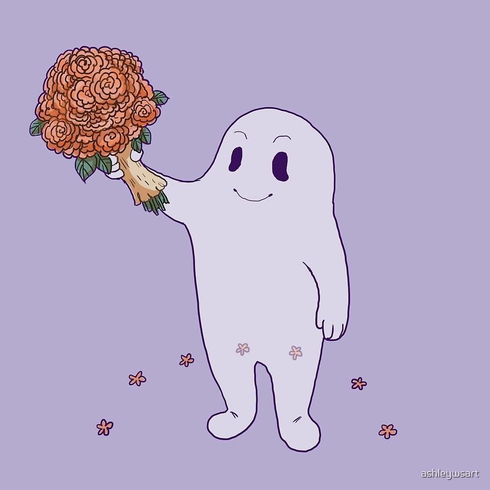 Ghostie Spring by ashleywsart