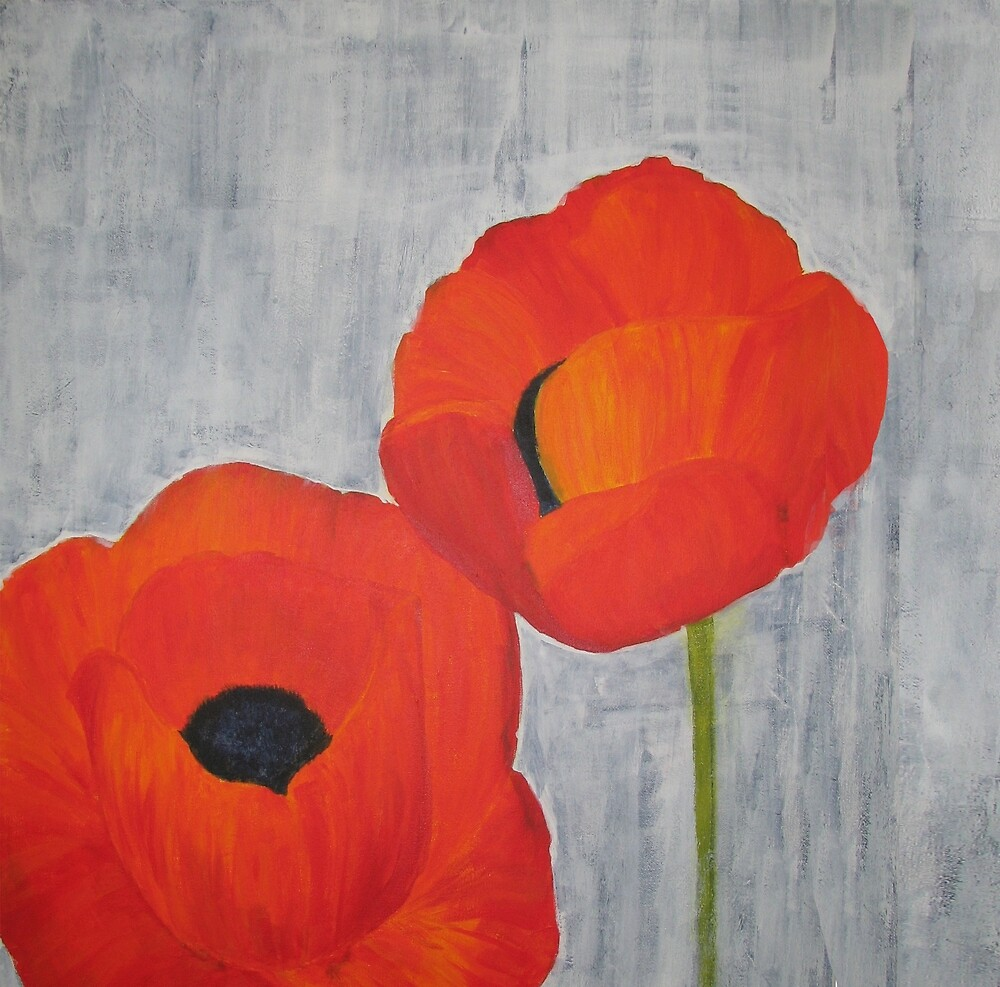 Two Poppies by spotz