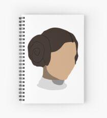 Princess Leia Head Spiral Notebook