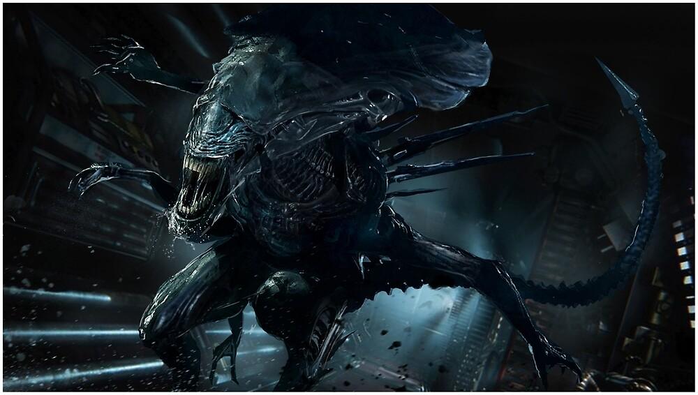 Alien Queen Xenomorph by uncannyknack