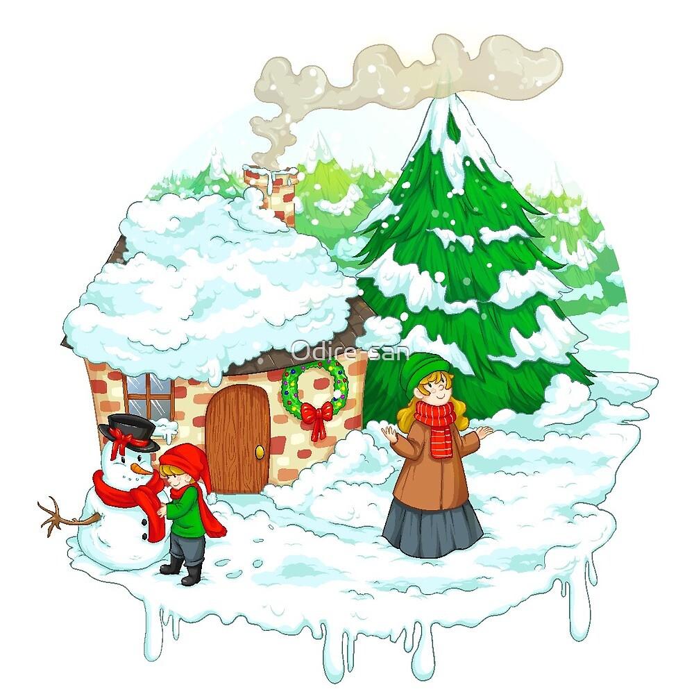 Christmas Joy by Odire-san