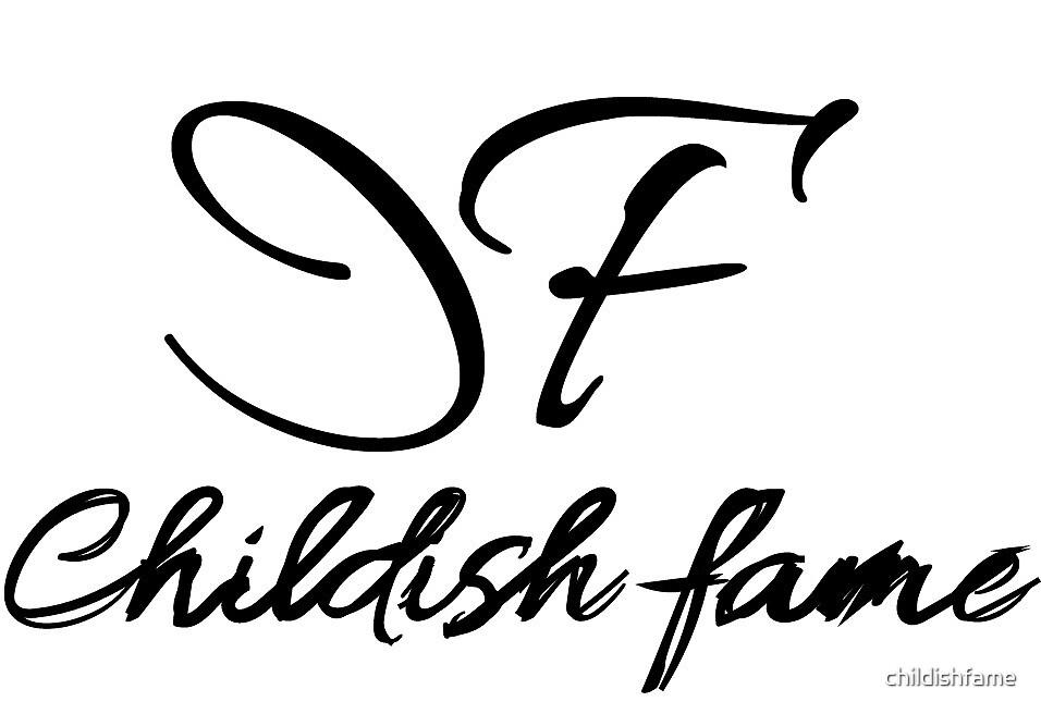 Childish Logo by childishfame