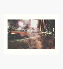 Taxi Taxi, 2016 Art Print