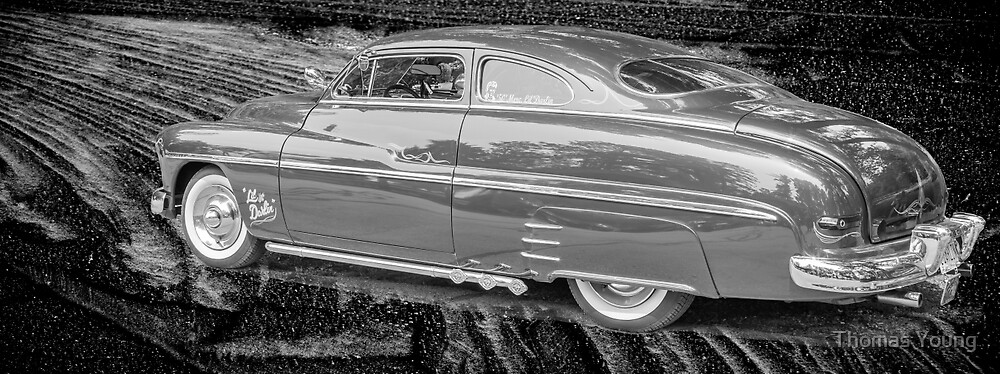 Lil Darlin Fifties Merc  by Thomas Young