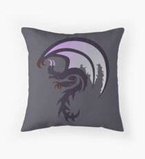 Necrosis - Goa Magara Throw Pillow