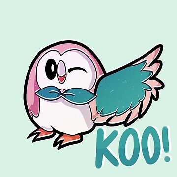 Koo! Rowlet Print by batprints