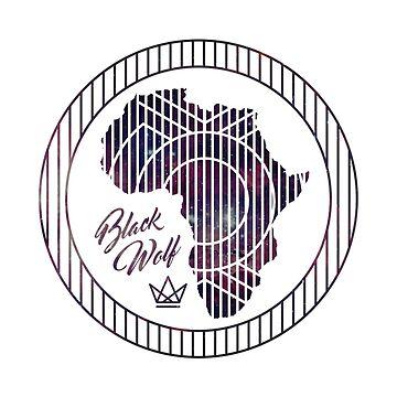 AFRICA, BLACK WOLF  by nzblackwolf