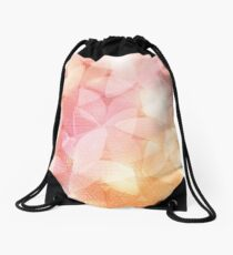 Summer Flowers Drawstring Bag