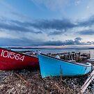 East Chester Sunsert by Roxane Bay