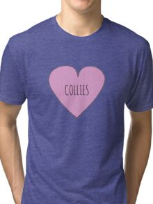 Collie Love Tri-blend T-Shirt