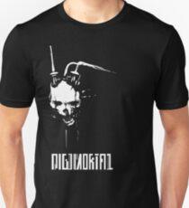 DIGIMORTAL - White/Logo Unisex T-Shirt