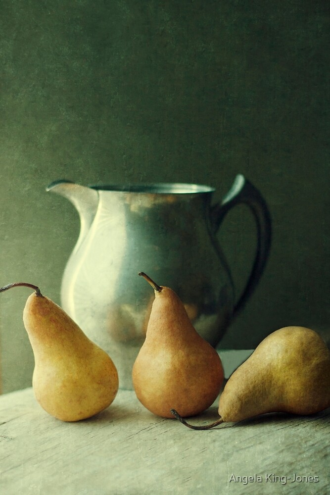 A Still life series- Pears by Angela King-Jones