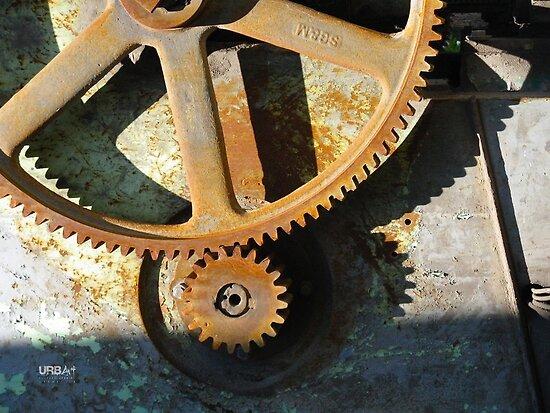 UrbArt® - Industrial Mechanism by UrbArt