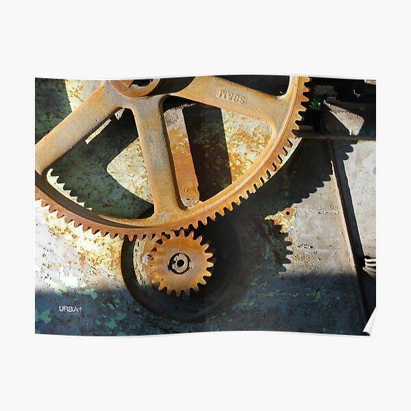 UrbArt® - Mécanisme industriel Poster