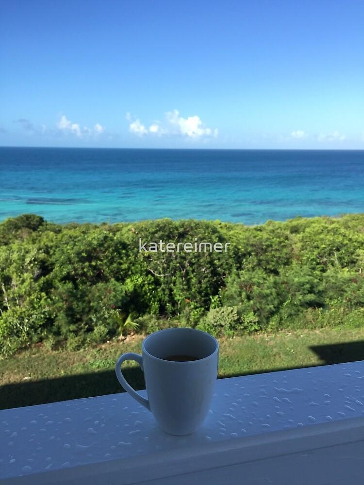 Beach coffee by katereimer