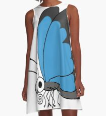 L is for Lepidoptera A-Line Dress