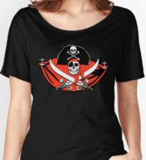 Pirates of the Caribbean Skull Women's Relaxed Fit T-Shirt