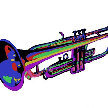 Colorful Trumpet by thefifthzero