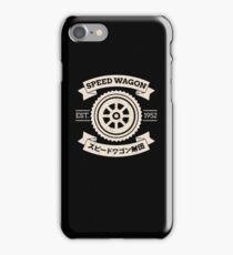 SPW - Speed Wagon Foundation shirt iPhone Case/Skin