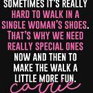 Schuhe der einzelnen Frau von kjanedesigns