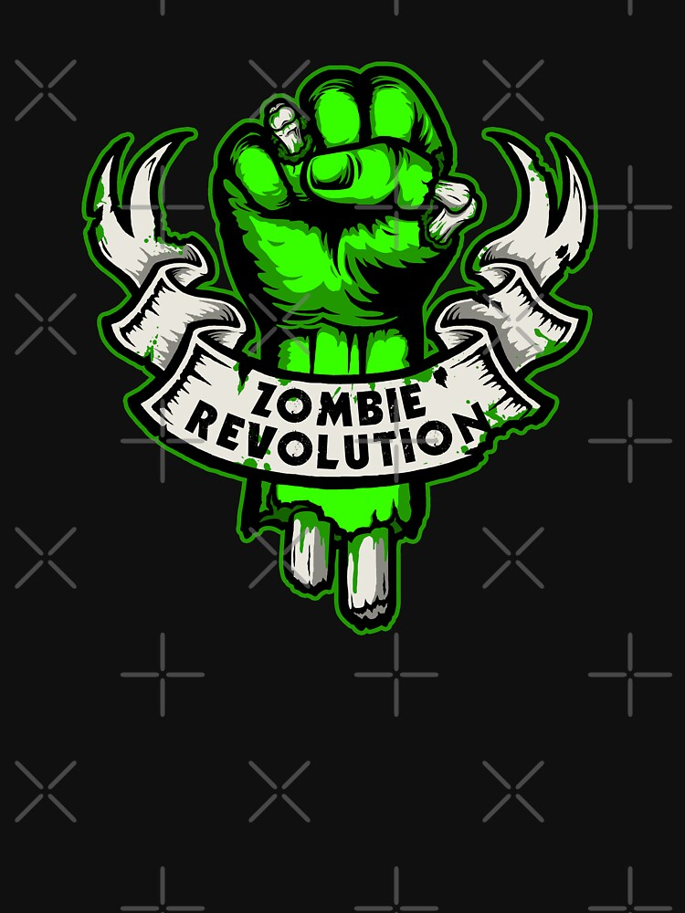 Zombie Revolution! -green- | Unisex T-Shirt
