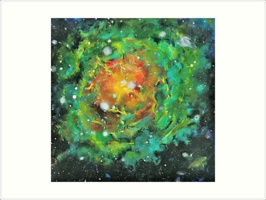 Emerald Galaxy  by lifebreez