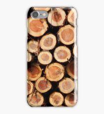 Logs #3 iPhone Case/Skin