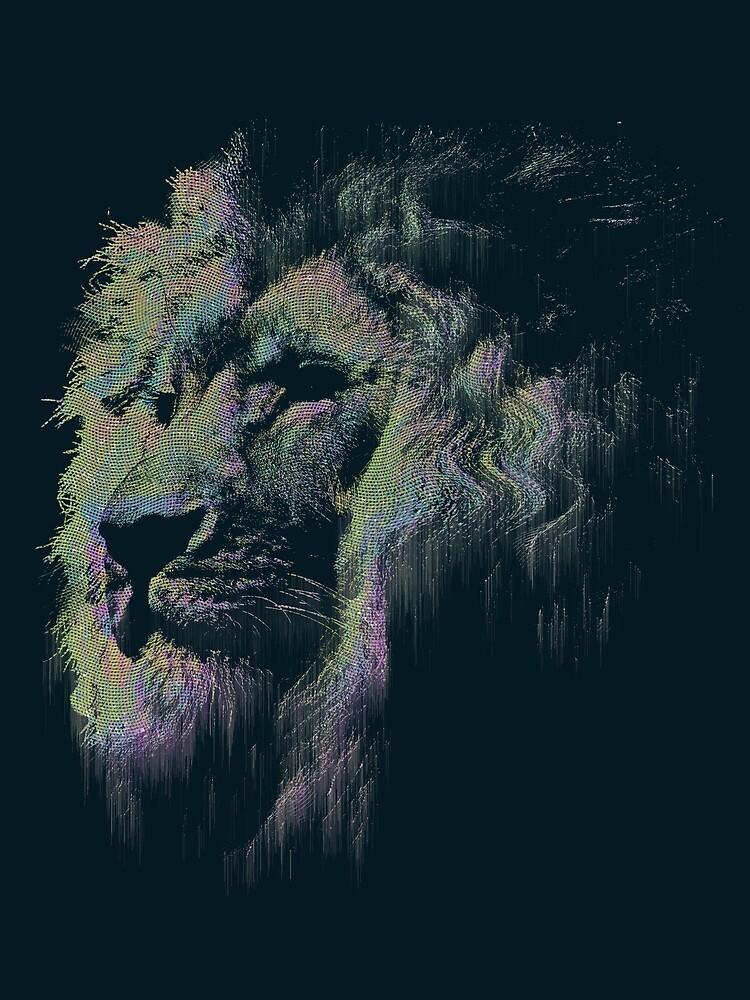 Ǝrror | Lion by Christian Dixon-McIver
