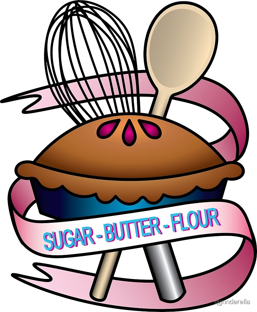 Sugar, butter, flour by qynnderella