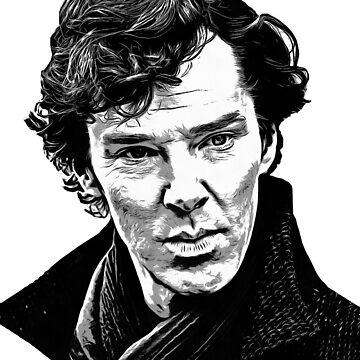 Sherlock Holmes by orangeboxx