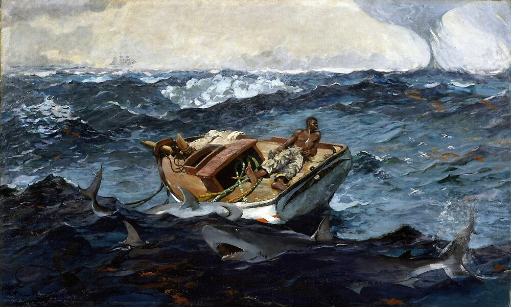 Winslow Homer The Gulf Stream by pdgraphics