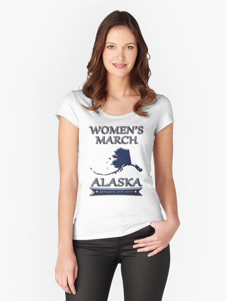 Women's March on Washington 2017 Alaska Redbubble T Shirts ...