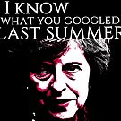 I know what you Googled last summer by BrokenBritain