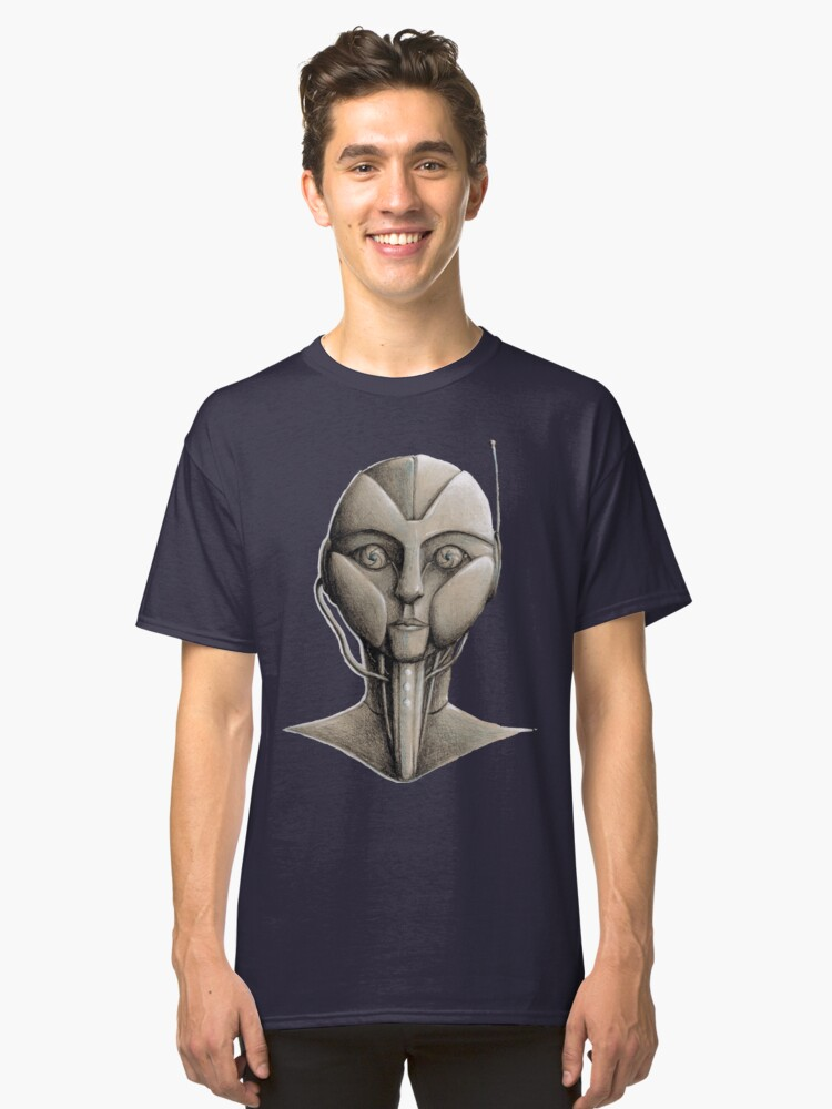 Robotic Stare Classic T-Shirt Front