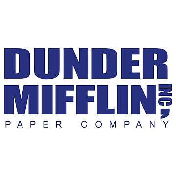 DUNDER MIFFLIN DESIGN by 3sarahsecond