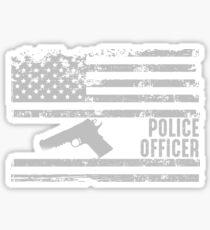 American Police Sticker