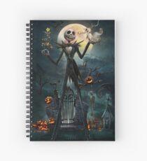 Jack Skellington Spiral Notebook