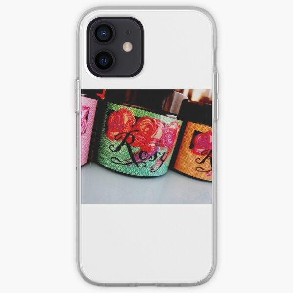 Rosy In Amber Collection III iPhone Soft Case