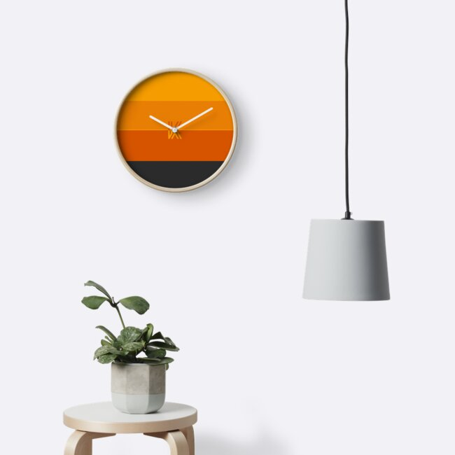 K Design Clock by kaitovibes