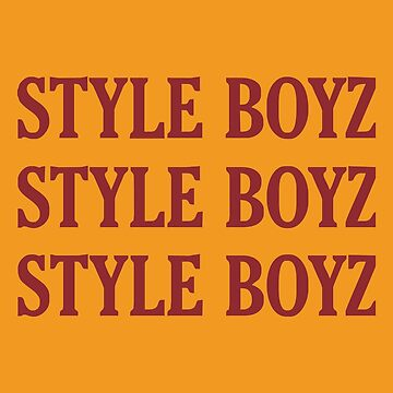 Style Boys Merchandise by 3sarahsecond