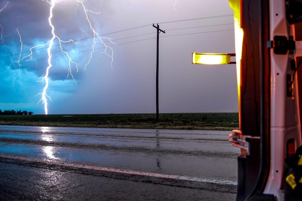 West Texas Lightning Bolt by sberkseth