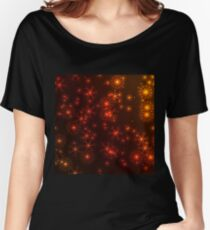 Colorful snowflakes Women's Relaxed Fit T-Shirt
