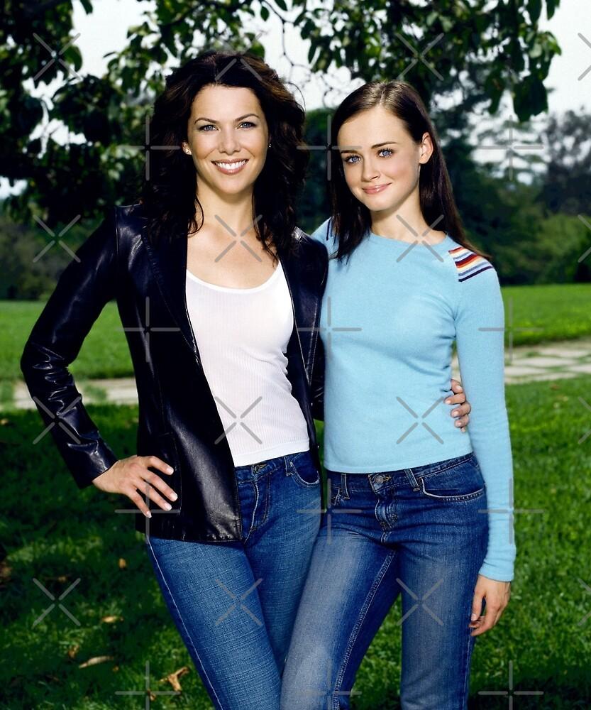 Lorelai & Rory by sammyniki92