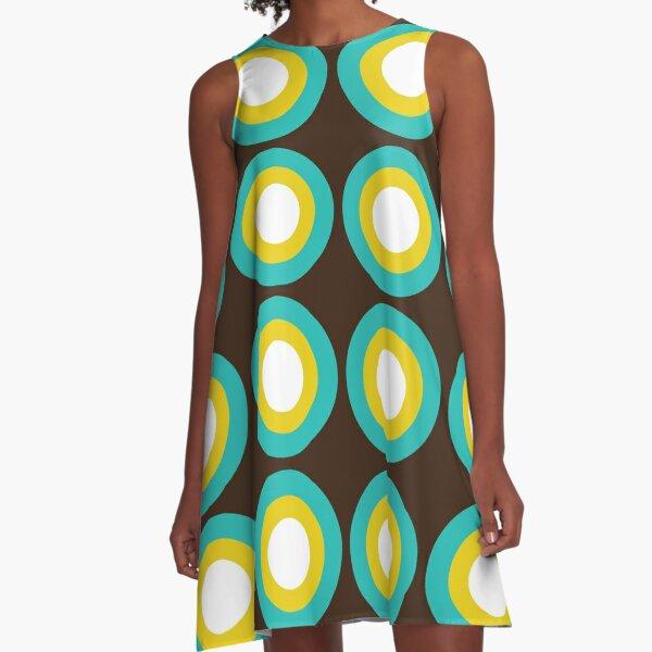 Just Like Eggs A-Line Dress