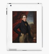 Francois Simoneau  A portrait of The Hon. John Oliphant-Murray  iPad Case/Skin