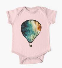 Watercolor Stars, Galaxy and Air Balloons Kids Clothes
